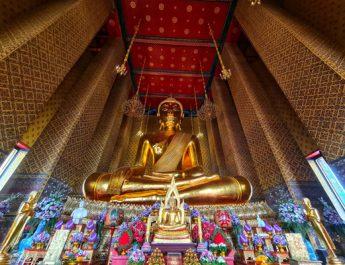 """ททท.ชวนล่องเจ้าพระยาในทริป """"ล่องเรือสักการะ 5 พระใหญ่"""" เสริมมงคลรับปีใหม่ไทย ในราคาสุดพิเศษ 499 บาท"""